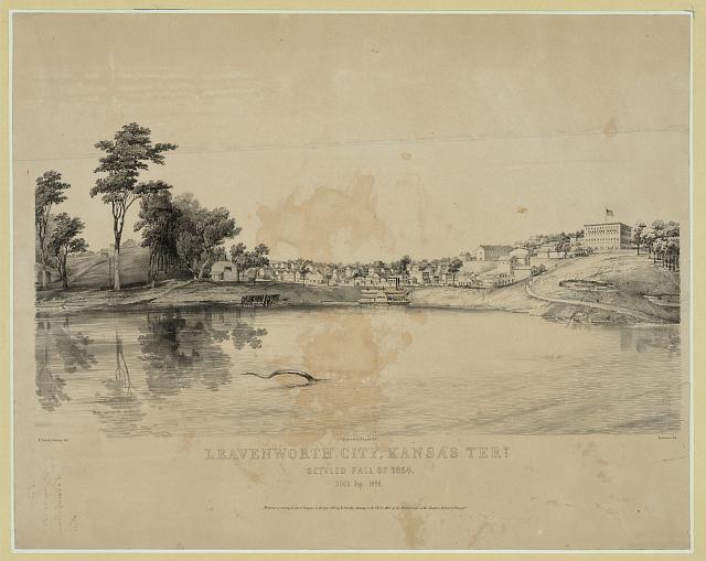 Leavenworth Constitution | Civil War on the Western Border