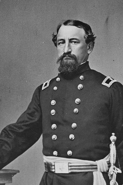 "Colonel John McNeil, aka ""The Butcher of Palmyra."" Courtesy of the Library of Congress."