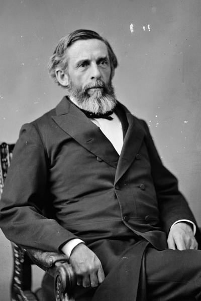 George S. Boutwell, the first Commissioner of Internal Revenue. Image courtesy of the Library of Congress.