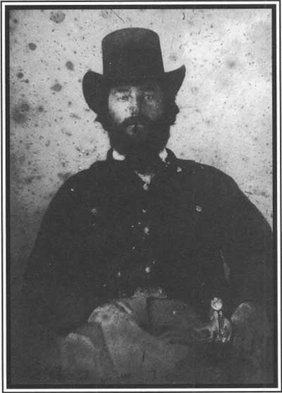 John T. Hughes was killed in the First Battle of Independence while leading a charge to secure the bank. Courtesy of the National Park Service.