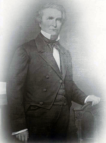 John C. Calhoun, President of the Lecompton Constitutional Convention. Courtesy of the Kansas Historical Society.