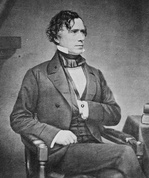 Franklin Pierce. Courtesy of the Library of Congress.