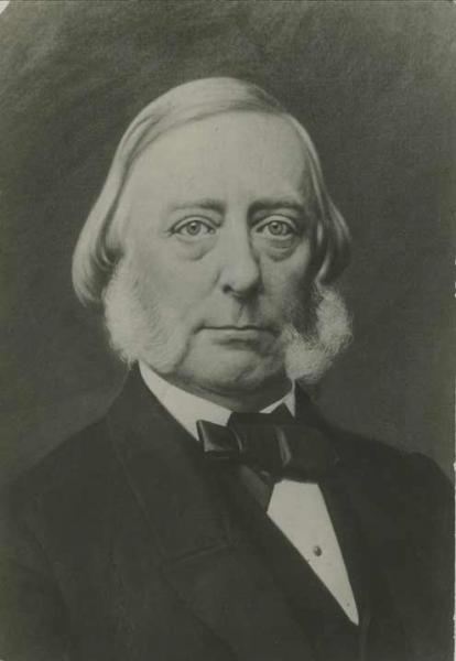 Governor Andrew H. Reeder. Courtesy of the Kansas Historical Society.