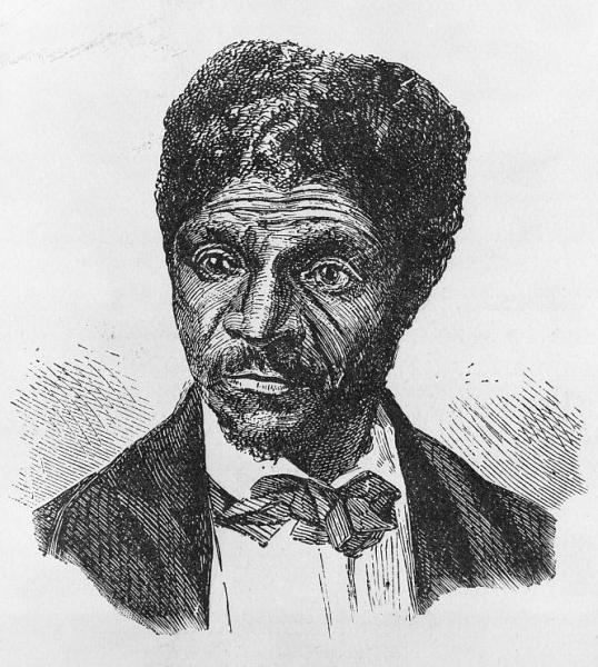 Wood engraving of Dred Scott. Courtesy of the Library of Congress.