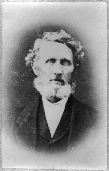 John W. Whitfield, the first Congressional delegate from Kansas Territory. Courtesy of the Library of Congress.