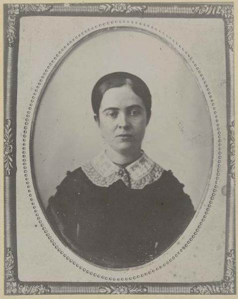 Sara Tappan Lawrence Robinson. Courtesy of Kansas State Historical Society.