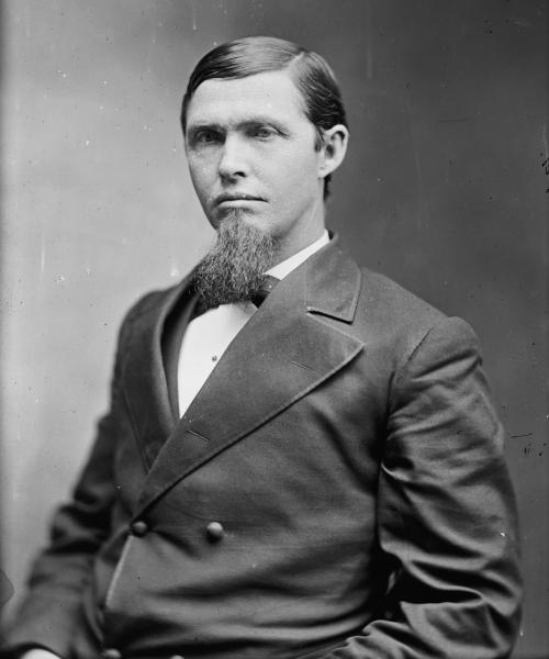 Portrait of Preston B. Plumb. Image courtesy of Library of Congress.