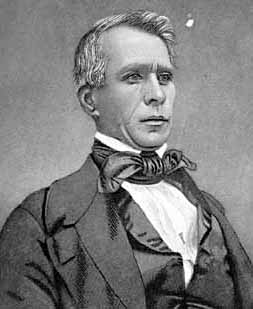 Wilson Shannon, a former governor of Ohio, was appointed Kansas territorial governor by President Franklin Pierce. Image courtesy of the Historical Marker Database.