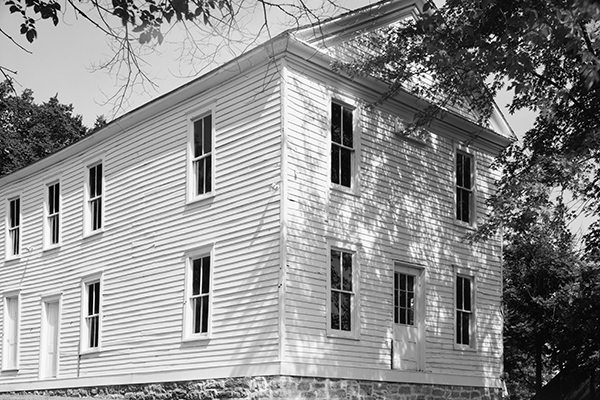 Constitution Hall, site of the Lecompton Constitutional Convention. It was built in 1856 and restored in 1991. Photograph courtesy of the Library of Congress.