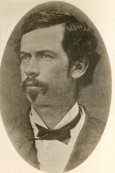 Portrait of Daniel Woodson. Courtesy of the Kansas Historical Society.