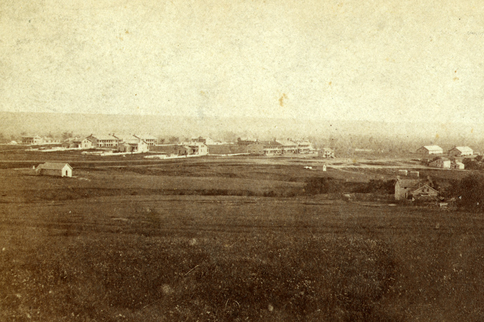 Today, Fort Riley is one of only two Kansas forts established before the Civil War that are still in operation. Courtesy of the Library of Congress.