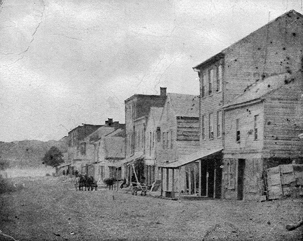 Glasgow, Missouri in 1864. Image courtesy of the Library of Congress.