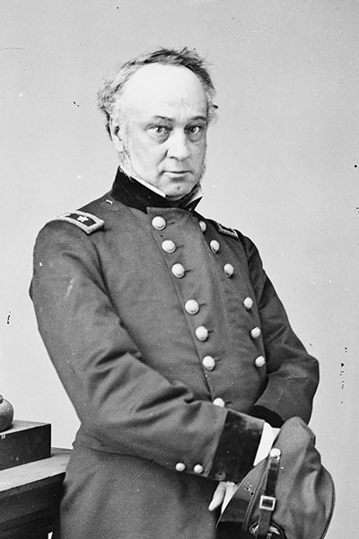 Henry W. Halleck. Courtesy of the Library of Congress.
