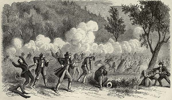 The Mountain Meadows Massacre. Courtesy of the Internet Archive.