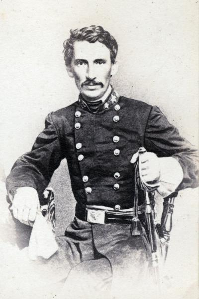 Brigadier General M. Jeff Thompson. Courtesy of Duke University.