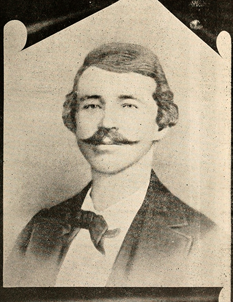 William Clarke Quantrill burned Blanton's Bridge after raiding Lawrence. Image courtesy of the Internet Archive.