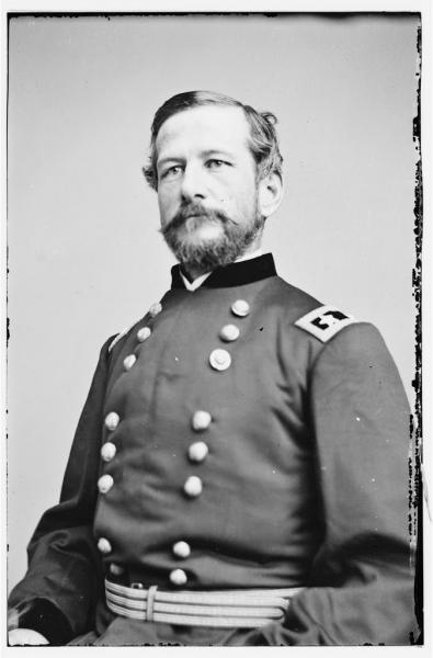 Portrait of Maj. Gen. Alfred Pleasonton, officer of the Federal Army. Image courtesy of the Library of Congress.