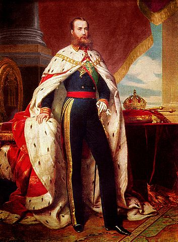 Emperor Maximilian I of Mexico, who welcomed ex-Confederates to immigrate. Image courtesy of Wikimedia Commons.