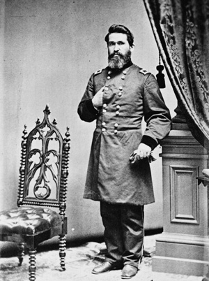 Maj. Gen. James Gillpatrick Blunt. Image courtesy of the Library of Congress.