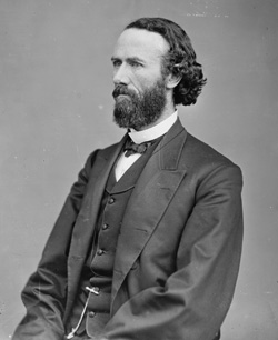 Missouri Senator and Brigadier General John B. Henderson. Image courtesy of the Library of Congress.