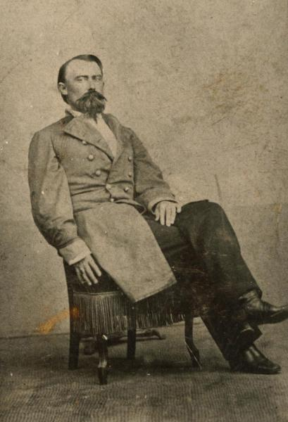 Joseph O. Shelby. Image courtesy of the Missouri Valley Special Collections, Kansas City Public Library.