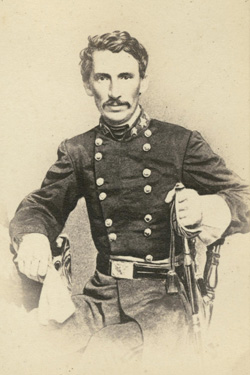 M. Jeff Thompson, Brigadier General, Missouri State Guard. Image courtesy of David M. Rubenstein Rare Book & Manuscript Library, Duke University.