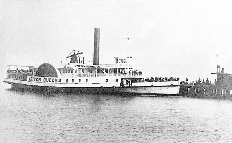 The steamboat River Queen, which hosted the Hampton Roads Conference between representatives of the Union and Confederate governments. Image courtesy of Wikipedia.