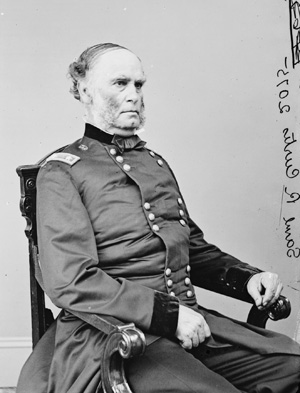 Major General Samuel R. Curtis. Image courtesy of the Library of Congress.