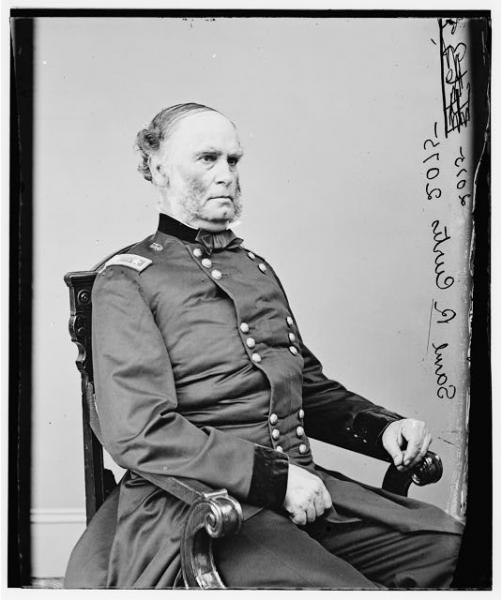 General Samuel R. Curtis.  Photograph courtesy of the Library of Congress.