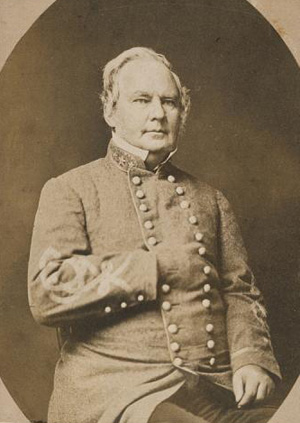 Photograph of Maj. Gen. Sterling Price, by Daniel T. Cowell. Courtesy of the Smithsonian Institution.
