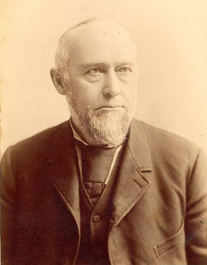 Thomas Carney, governor of Kansas. Image courtesy of the Kansas Historical Society.