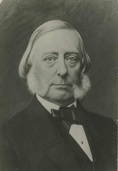 "Andrew Reeder, the first governor of Kansas Territory, presided over the proslavery ""Bogus Legislature,"" which residents rejected. Photograph courtesy of the Kansas Historical Society."