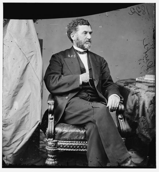Charles D. Drake drafted a new Missouri state constitution that imposed strict restrictions on secessionists. Image courtesy of the Library of Congress.