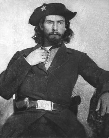 William T. 'Bloody Bill' Anderson. Image courtesy of the State Historical Society of Missouri.