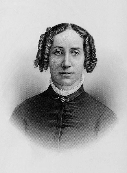 Clarina Nichols, women's rights activist. Image courtesy of the Internet Archive.
