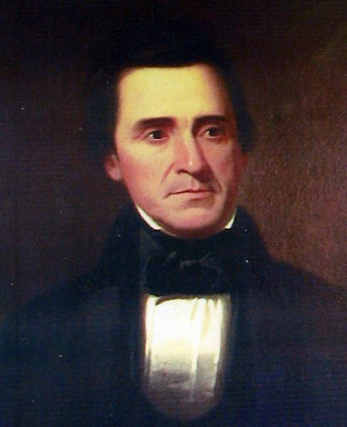 Portrait of David Rice Atchison painted by Missouri artist George Caleb Bingham. Wikimedia Commons image.