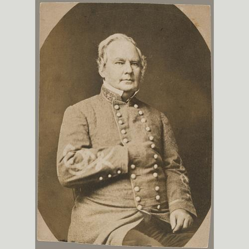Photograph of General Price, by Daniel T. Cowell. Courtesy of the Smithsonian Institution.