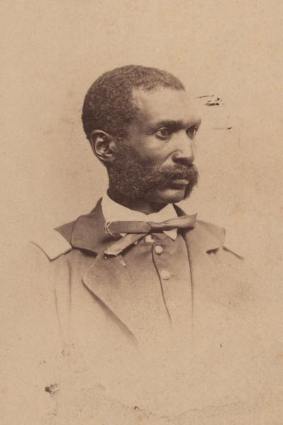 William Matthews, captain of the 1st Kansas Colored Volunteers. Image courtesy of the Kansas Historical Society.