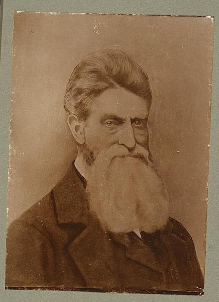John Brown arrived with weapons and a willingness to use violence to keep Kansas free. Image courtesy of the Library of Congress.