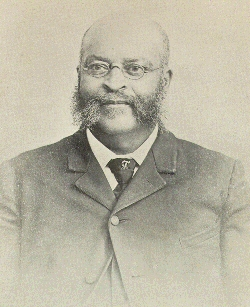 "Liberated Missouri slave Henry Bruce, who declared that slaves ""understood the war to be for their freedom solely, and prayed earnestly and often for the success of the Union cause."" Image from www.blackpast.org"