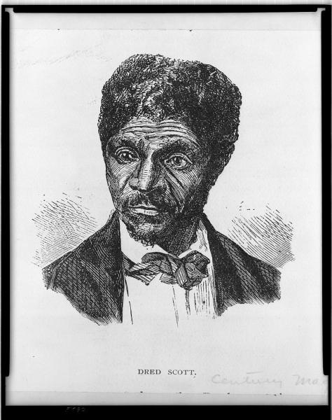 Lincoln argued that the Dred Scott decision was part of a conspiracy to nationalize slavery. Image courtesy of the Library of Congress.