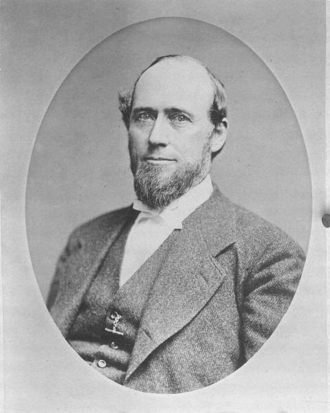 "Thomas Carney's efforts to protect the state of Kansas and support the war effort during his tenure earned him the sobriquet: ""The War Governor."" Photograph courtesy of the Kansas Historical Society."