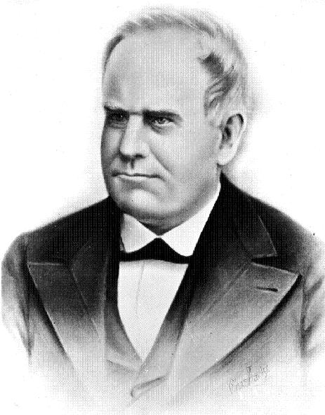 Lieutenant Governor Willard P. Hall. Image from Wikimedia Commons.